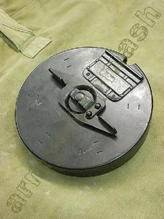 Replika bubnového zásobníku do samopalu thompson 1928 cal.45.jako